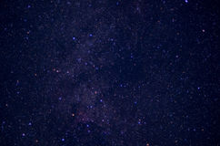 Niebo pełno gwiazdy obrazy royalty free