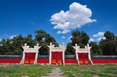Niebo Pekin Świątynia Zdjęcia Stock