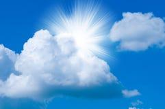 niebo pogodny Zdjęcia Stock