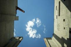 niebo przemysłowe fotografia stock