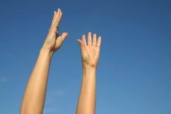 niebo reach spróbować Zdjęcie Stock