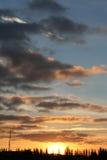 niebo słońca Zdjęcie Royalty Free