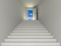 niebo schody Fotografia Stock