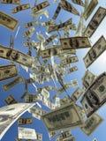 niebo się pieniądze ilustracja wektor
