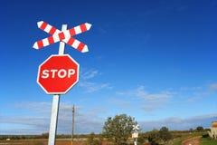 niebo szyldowa stop Fotografia Stock