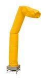 Niebo tubki balonu pokazu stojak na bielu Fotografia Stock