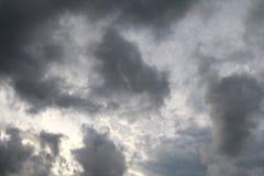 Niebo ulewa, Czarny niebo, Szary niebo zmrok zdjęcie stock