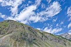 Niebo w Alps Zdjęcia Stock