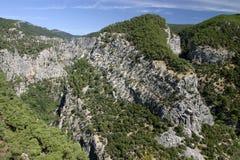 Niebo w górze Ida w wiośnie, Turcja Fotografia Royalty Free