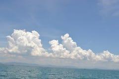 Niebo w morzu Fotografia Stock