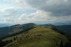 Niebo w Ukraina Zdjęcie Royalty Free