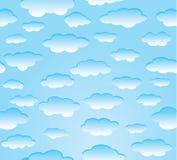 niebo wibrujący royalty ilustracja