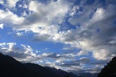 Niebo widok Zdjęcia Stock