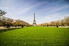 Niebo wieża eifla Paryż Francja Obraz Royalty Free