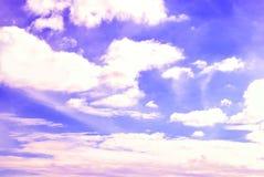 Niebo z chmurą Obrazy Stock