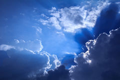 Niebo z chmurami Zdjęcie Royalty Free