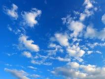 niebo zachmurzone niebo Obraz Stock