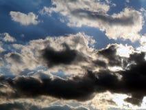 niebo zachmurzone niebo Zdjęcie Royalty Free