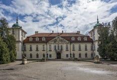 Nieborow Palace in Poland Stock Photo