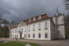 Nieborow Palace in Poland Stock Images