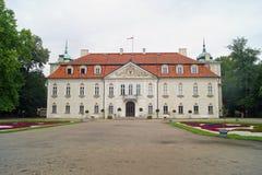 Nieborow slott & x28; Poland& x29; Royaltyfria Bilder