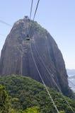 Niecka De Azucar w Rio De Janeiro Obrazy Stock