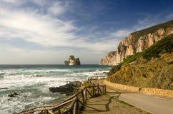 Niecka Di Zucchero, Sardinia Obraz Royalty Free