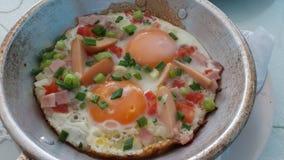 Niecki jajko Zdjęcie Stock