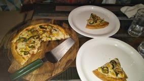 Niecki pizza obrazy stock