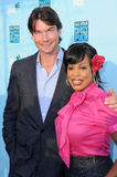 Niecy Nash,Jerry O'Connell Stock Images