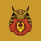 Niedźwiadkowy Esport hazardu logo royalty ilustracja
