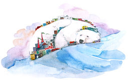 Niedźwiadkowa góra Obraz Stock