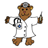 niedźwiadkowa lekarka Zdjęcie Stock