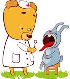 niedźwiadkowa lekarka ilustracji