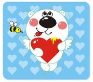 niedźwiadkowa miłość Obrazy Royalty Free