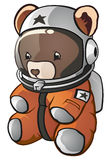 niedźwiadkowy astronauta miś pluszowy Fotografia Royalty Free