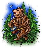 niedźwiadkowy bęben Obraz Royalty Free