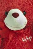 niedźwiadkowy czerwony miś pluszowy obrazy royalty free