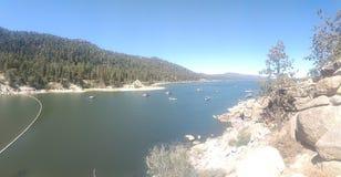 niedźwiadkowy duży jezioro zdjęcie royalty free