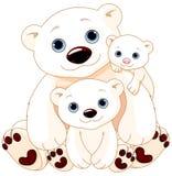 niedźwiadkowy duży rodzinny biegunowy ilustracji