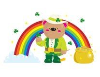 niedźwiadkowy dzień Patrick s st ilustracji