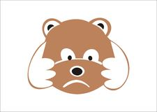 niedźwiadkowy mały Zdjęcia Stock