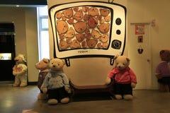 niedźwiadkowy muzealny miś pluszowy Zdjęcia Royalty Free