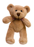 niedźwiadkowy siedzący miś pluszowy Zdjęcia Stock