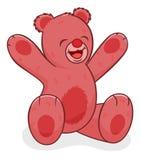 niedźwiadkowy szczęśliwy miś pluszowy royalty ilustracja