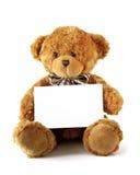 niedźwiadkowy target989_0_ miś pluszowy Zdjęcie Stock