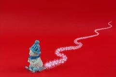 niedźwiadkowych bożych narodzeń zabawkarska zima Obraz Royalty Free