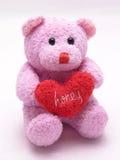 niedźwiedź 3 serce kochanie Fotografia Stock