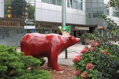 Niedźwiedź Berlin, Niemcy - Obraz Royalty Free