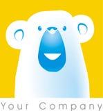 niedźwiedź logo Obrazy Royalty Free
